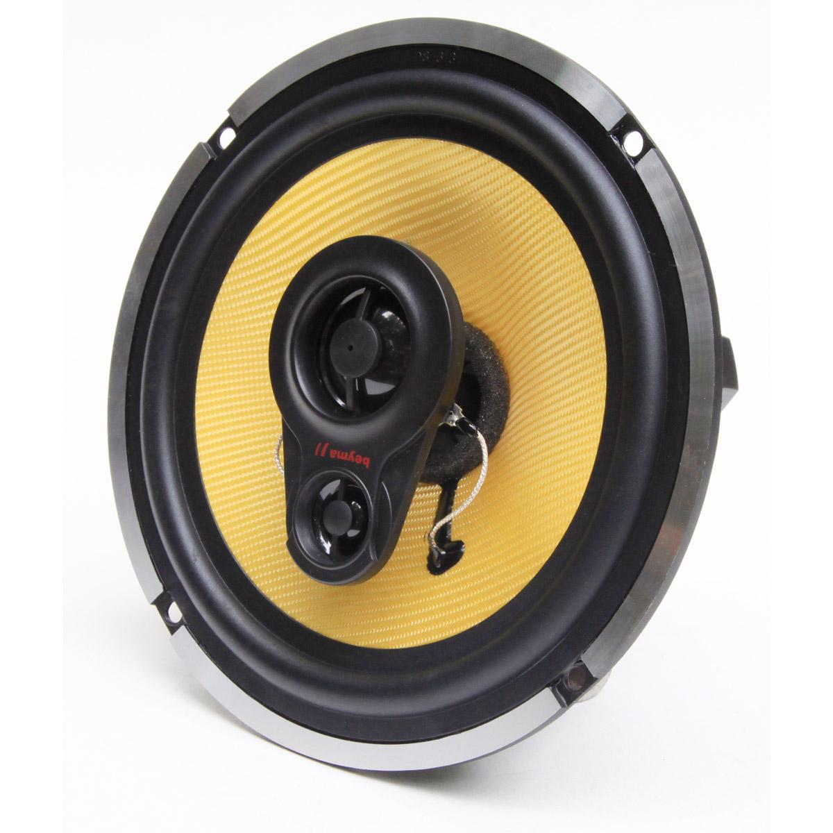Beyma Sc-603 6.5-Inch 4 Ohm 300 Watt 3 Way Sound Concept Series Car Speakers