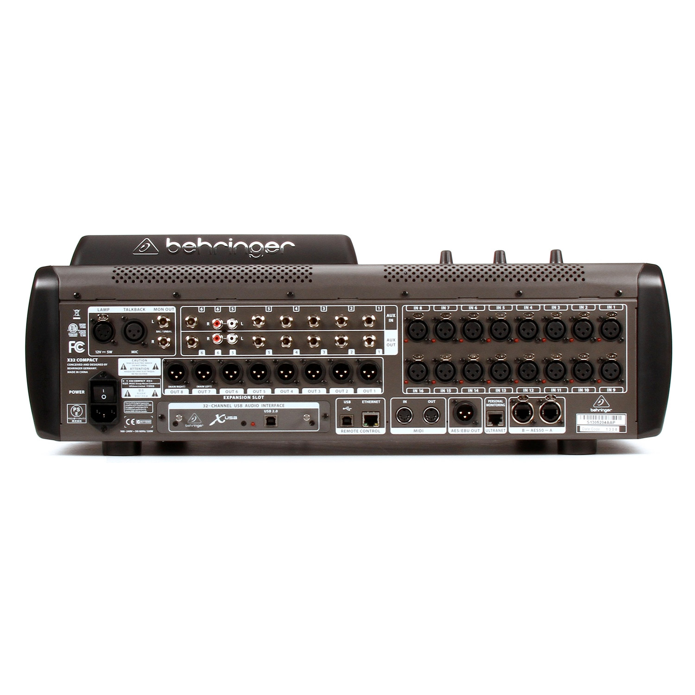 Details about Behringer X32 Compact 16-Channel Digital Mixer - 24-bit/48kHz  - USB